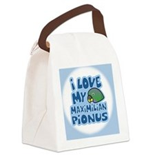 animelove_pionus_maxi_ornament Canvas Lunch Bag