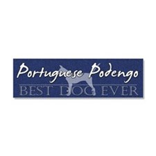 sticker_bestdog_portpodengo-smoo Car Magnet 10 x 3
