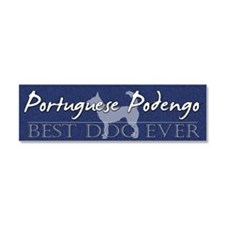 sticker_bestdog_portpodengo-wire Car Magnet 10 x 3