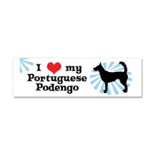 sticker_ilovemy_portpodengo-wire Car Magnet 10 x 3