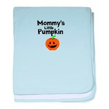 Mommys Little Pumpkin baby blanket