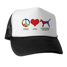 peacelove_portpodengo-smooth Trucker Hat
