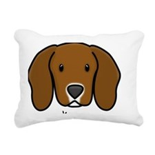 custom-kasey Rectangular Canvas Pillow