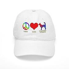 peacelove_portpodengo-wire Baseball Cap