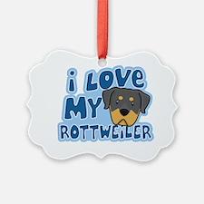 animelove_rottweiler Ornament