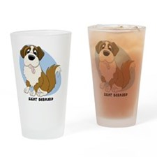 saintbernard_animation Drinking Glass