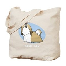 shihtzu_animation_blk Tote Bag