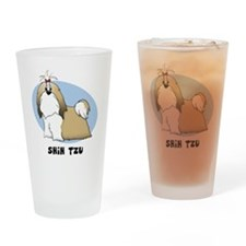 shihtzu_animation_sigg Drinking Glass