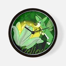 corgi-fairy_mousepad Wall Clock