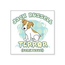 """jackrussellterror Square Sticker 3"""" x 3"""""""