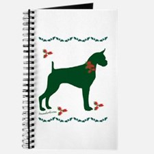 Christmas Boxer Journal