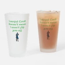 Lawful Good Drinking Glass