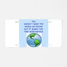 TEA Aluminum License Plate