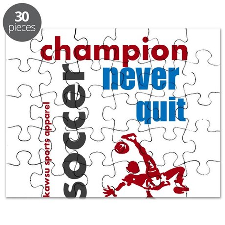 champion soccer Puzzle