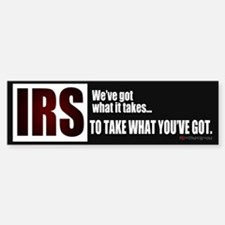 IRS Bumper Bumper Bumper Sticker