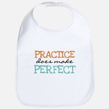 Practice Does Make Perfect Bib