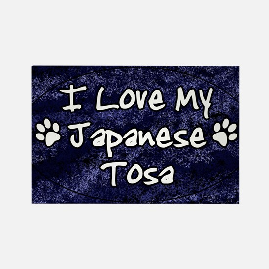 tosa_oval_funkylove Rectangle Magnet