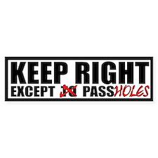 10x3 Passhole Bumper Bumper Sticker