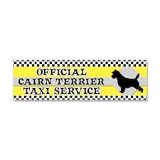 cairn_taxi_bumper Car Magnet 10 x 3