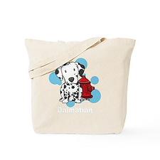 kawaii-dalmatian_blk Tote Bag