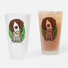 kawaii-germanshorthair Drinking Glass