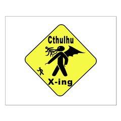 Cthulhu Crossing! Posters