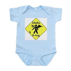 Cthulhu Crossing! Infant Bodysuit