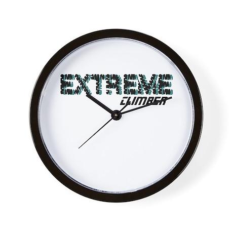 Extreme Climber Wall Clock