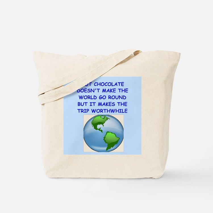 hot,chocolate Tote Bag