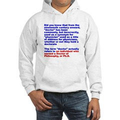 Physicians and Doctors Hoodie