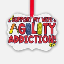 agility_support_wife Ornament