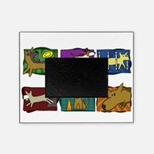 mutts_do_it_all_blk Picture Frame