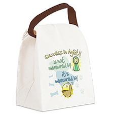 measure_agility_success Canvas Lunch Bag