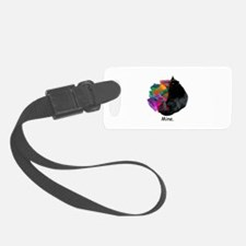 Cat with Presents Luggage Tag