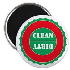 Red Green Clean Dirty Magnet