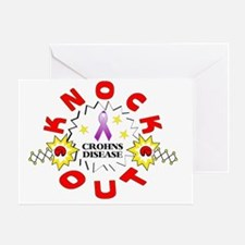 knockout-crohns Greeting Card
