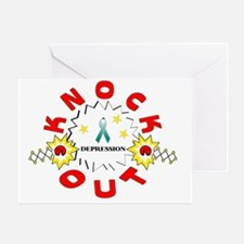 knockoutdepression Greeting Card
