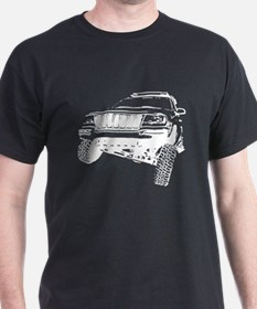 Jeep Grand Cherokee Poser (WJ) Inverse T-Shirt
