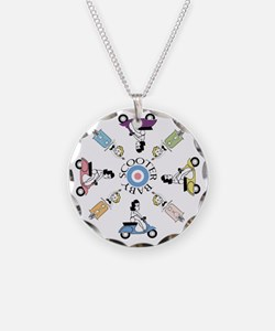 scootergirl-ring-ver2-circle Necklace