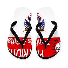 patriotic Flip Flops