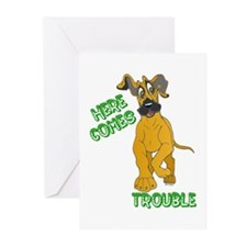 Fawn Trouble Pup Greeting Cards (Pk of 10)