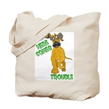 Fawn Trouble Pup Tote Bag