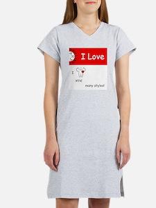 i-love-wine Women's Nightshirt