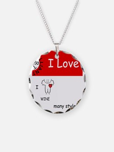 i-love-wine Necklace