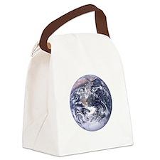 earth-job-black Canvas Lunch Bag
