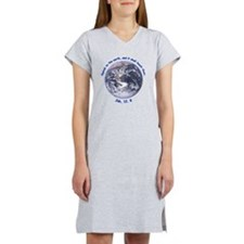 earth-job-white Women's Nightshirt