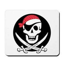 cant-sleep-pirates-black Mousepad