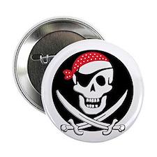 "cant-sleep-pirates-black 2.25"" Button"