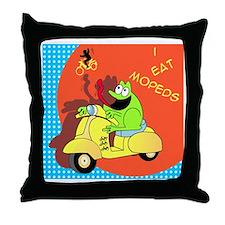frog-ver-2 Throw Pillow