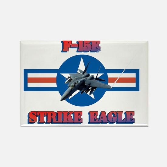 F-15E Strike Eagle-ver3-a Rectangle Magnet